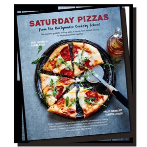 Saturday Pizzas Cookbook Cover